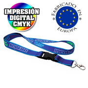 Lanyard sublimacion digital - clipclap