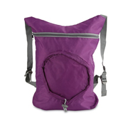 Petate plegable morado