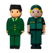Pen drive Guardia Civil