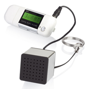 Llavero mini altavoz para moviles, tablet, iPad