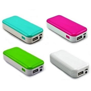 Mini Powerbank 4.000 mAh con luz LED