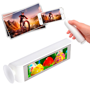 Power bank con pantalla foto iluminada