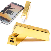 Powerbank lingote de oro para regalos exclusivos