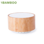 Altavoz bluetooth bambu portatil